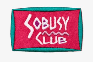 SO BUSY CLUB PATCH