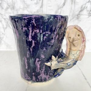 妖怪陶器 アマビエのマグカップ