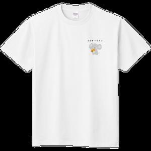 【お見舞いに来たよ!】ぞう 定番のTシャツ お見舞いギフト