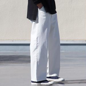 【Audience】 White Denim Utility Pants 赤耳ホワイトデニムユーティリティパンツ オーディエンス