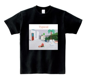 neco眠る Typical BLACK T