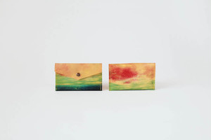【03.09 SALE START】海と黄色い空のカードケース