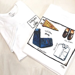 【3/29再販】Lefty Art 【MENS WARDROBE】Tシャツ