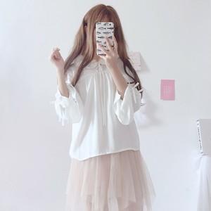 【トップス】日系スウィートファッションルーズ長袖シャツ