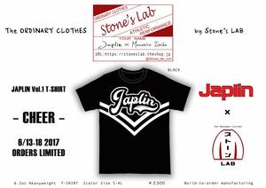 劇団JAPLIN Tシャツ Vol.1「Cheer」