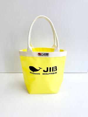 【JIB】BKS28 バケツトートSS / イエロー x アイボリー