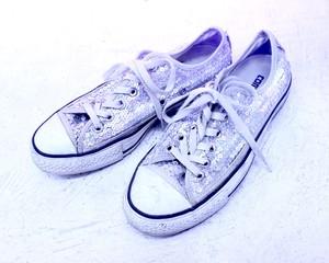 converse spangle sneaker