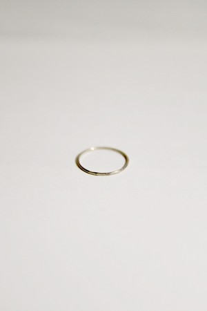 【grün⁺】THIN RING SILVER