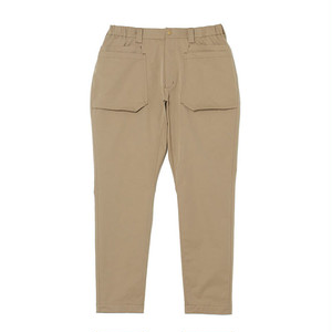 STRETCHED DOUBLE POCKET PANTS - BEIGE
