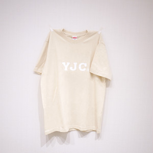 T-SHIRT NATURAL×WHITE / YJC-1709w