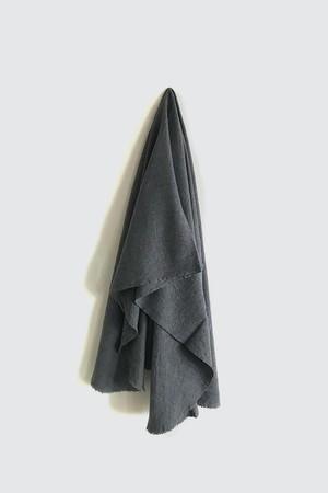 01473-1 muji cut stole / gray
