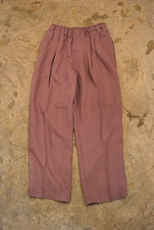 COMFORTABLE REASON / Linen Daily Slacks
