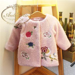 赤ちゃん コート かわいい ピンク ベビーファッション 海外服 赤ちゃん服