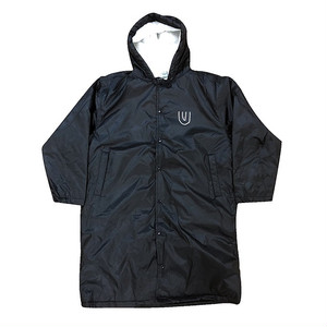 """露出狂 -black-"" Bench Coat"