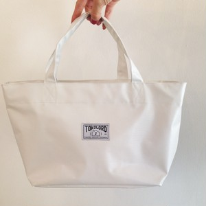Tarpaulin Daily Tote Bag【white】