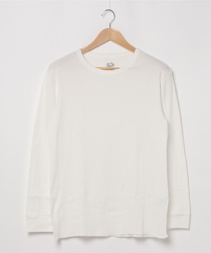 14665900【FRUIT OF THE LOOM/フルーツオブザルーム】20/-_TCワッフル_L/S Tシャツ