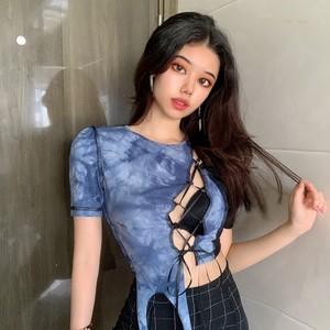 【トップス】個性的透かし彫りセクシーファッションキャミソール32570503