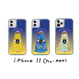 【web限定/送料無料】まーくんUFOアブダクションiphoneケース(11シリーズ+XR)
