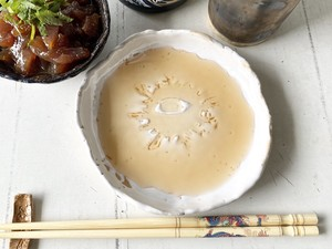 妖怪陶器 バックベアード様の小皿