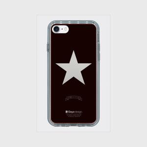 ONE STAR MIRROR SILVER by HRS19.8.0【スマホケース】