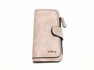 たっぷり入る、スクラブレザーの高品質なロング財布(ピンク) High Quality  Scrub Leather Wallet (Pink) インポート 輸入 大容量 おしゃれ 大人 便利