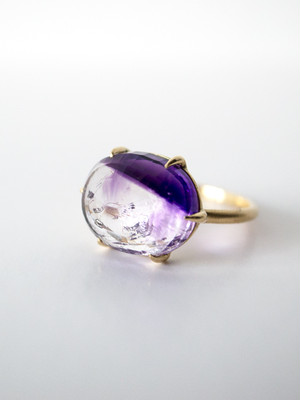 【 sold out 】Quartz Ring・Amethyst / AL-R09