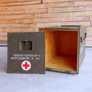 スウェーデン軍 メディカルウッドボックス Sサイズ