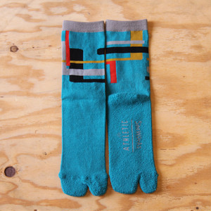 【The Athletic x SimWorks】 Tabby Socks / Teal