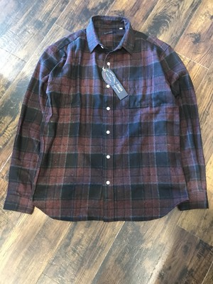 modem design Check Shirt / Wine check