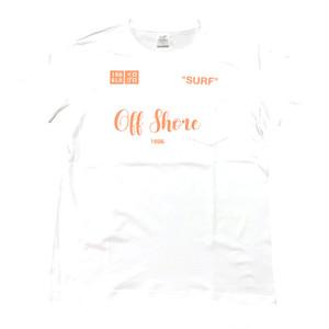 IROGLO/イログロ/Off Shore/胸ポケット付Tシャツ/ホワイト
