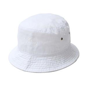 BB LOGO BUCKET HAT【WHITE】
