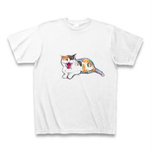 三毛の欠伸Tシャツ
