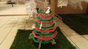 ダンボールクラフト クリスマスツリー