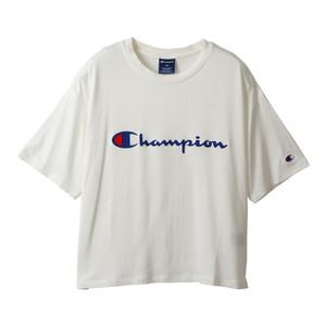 (チャンピオン)Champion CW-PS313-010 WOMEN T-SHIRT WHITE