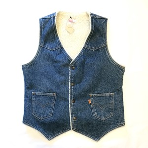 70's Levi's denim bore Vest