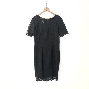 Vintage Black Lace Dress / ブラックレースワンピース