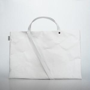 【N/no × E/zel.】SOME WAY LIGHT LESSON BAG_P6(B4)_PP/WHITE