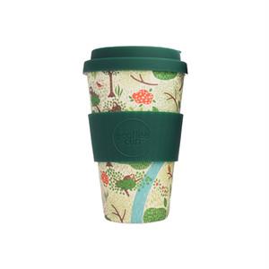 【オランウータンを守る】竹からできたオリジナルコーヒーカップ (ホワイト)
