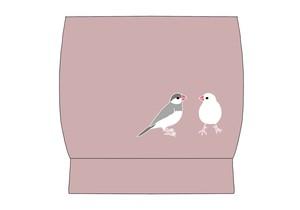 【セミオーダー企画】名古屋帯「文鳥」