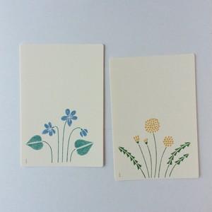 ノラヤ 花のカード