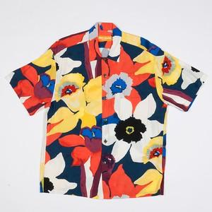 Jams World Retro Shirt Bamboo Orchid【ジャムズ ワールド】バンブー オーキッド アロハシャツ