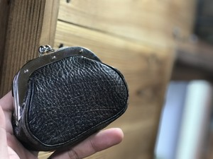 MANIFOLD by O.A  COIN PURSE ガマ口財布小