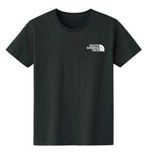 SOUTH SHINSHU FACE Tシャツ ブラック