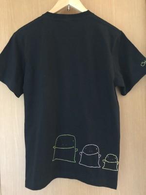 オリジナルTシャツ 黒 【ゴースト】