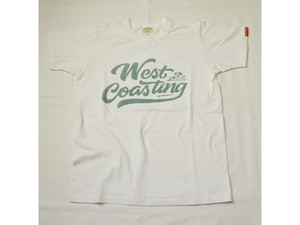 スマートスパイス WEST COASTING PRINT T-SHIRTS WHITE