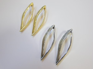 (IKUO)gold/silver ピアス