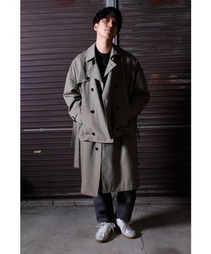 Layered Over Coat -beige <LSD-BJ3C1>