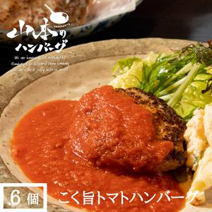 こく旨トマトハンバーグ 6個入 (冷凍)