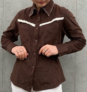 (PAL) stitch colour l/s shirt