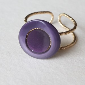299.Vintage button ring